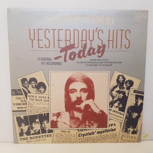 """COMPILATION - yesterday's hits today. SUPER2307007, 12""""LP"""