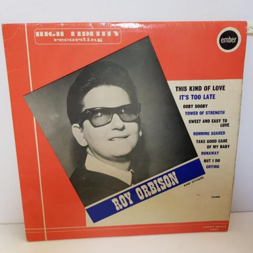 """ROY ORBISON - roy orbison and others. FA2005, 12""""LP"""