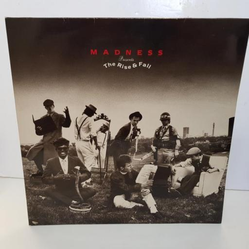 """MADNESS - the rise & the fall. SEEZ46, 12""""LP"""