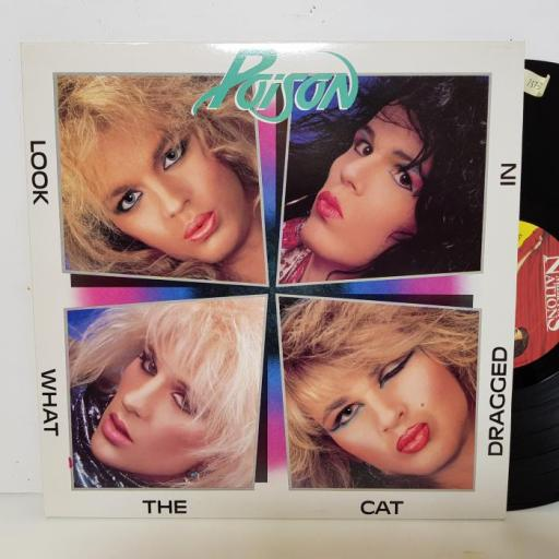 """POISON - look what the cat dragged in. MFN69, 12""""LP"""