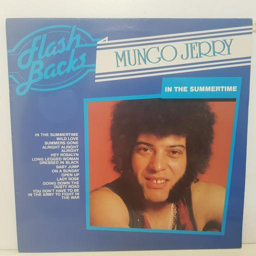 "MUNGO JERRY - in the summertime. FBLP8075, 12""LP"