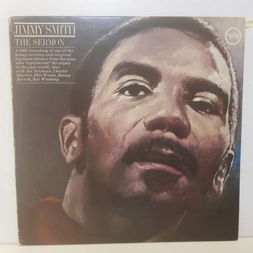 "JIMMY SMITH - the sermon. 2332085, 12""LP"