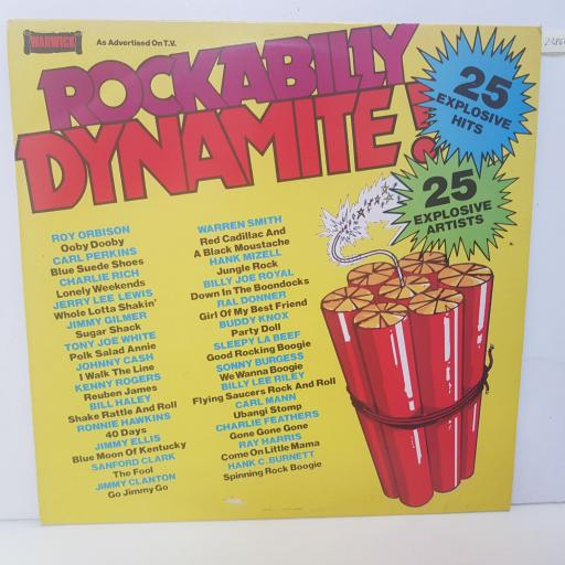 "COMPILATION - rockabilly dynamite! WW5060, 12""LP"