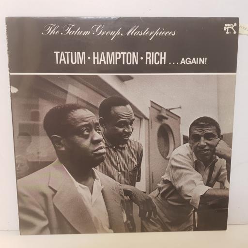 ART TATUM WITH LIONEL HAMPTON, BUDDY SMITH - ...again! the tatum group masterpieces