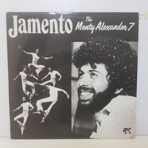 "THE MONTY ALEXANDER 7 - jamento. 2310826, 12""LP"