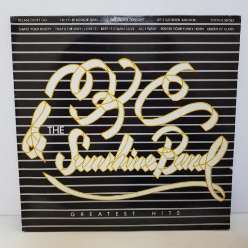 "KC AND THE SUNSHINE BAND - greatest hits. TKR83385, 12""LP"