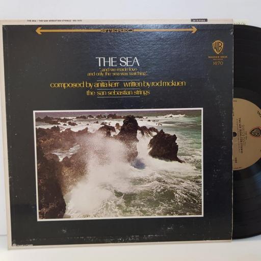 "ANITA KERR, ROD MCKUEN, THE SAN SEBASTIAN STRINGSV - the sea. WS1670, 12""LP"