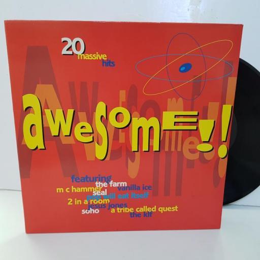 """COMPILATION - awesome!! EMTV58, 12""""LP"""