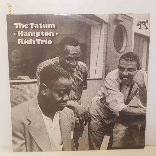 "ART TATUM WITH LIONEL HAMPTON, BUDDY SMITH - the tatum hampton rich trio. 2310720, 12""LP"