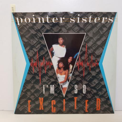 "POINTER SISTERS - i'm so excited. RPST108, 12""LP"
