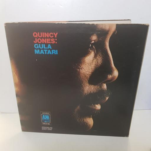 "QUINCY JONES - gula matari. AMLS992, 12""LP"