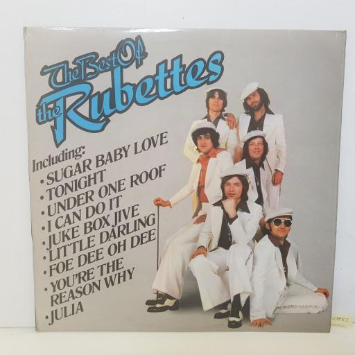 """THE RUBETTES - the best of the rubettes. ETAT8, 12""""LP"""