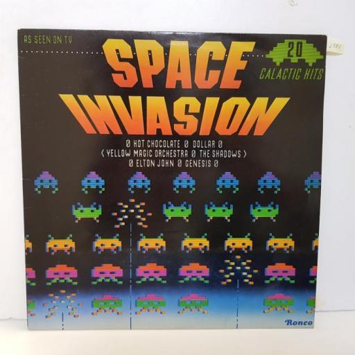 "COMPILATION - space invasion. RTL2051, 12""LP"