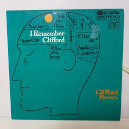 "CLIFFORD BROWN - I remember clifford SMWL 21021 12"" LP."