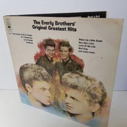 THE EVERLY BROTHERS - original greatest hits. 66255 000
