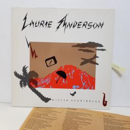 "LAURIE ANDERSON - mister heartbreak. WE 361 12""LP"