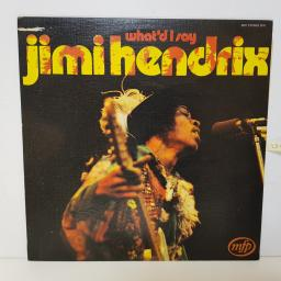 "JIMI HENDRIX - whatd I say MFP 5278 000 12"" LP."