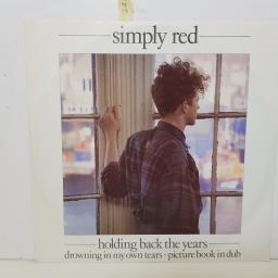 "SIMPLY RED - holding back the years YZ 70T 000 12"" EP."