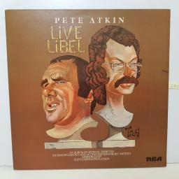 "PETE ATKIN - live libel RS 1013 000 12"" LP."