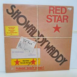 "SHOWADDYWADDY - red star SPARTY 1023 12"" LP."