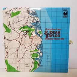 "R.DEAN TAYLOR - indiana wants me. SPR 90007 12"" LP"