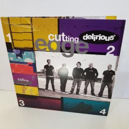 "DELIRIOUS - cutting edge 1 2 3 4 5 68070 000 12"" LP."