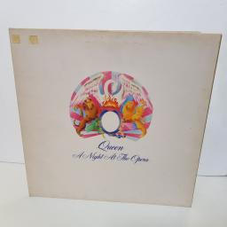 "QUEEN - a night at the opera EMTC 103 000 12"" LP."