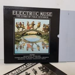 "ELECTRIC MUSE - the story of folk into rock FOLK 1001 000 12"" LP."