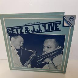 "STAN GETZ & J.J. JOHNSON - gets & j.j live. 2610 021 000 12""LP"