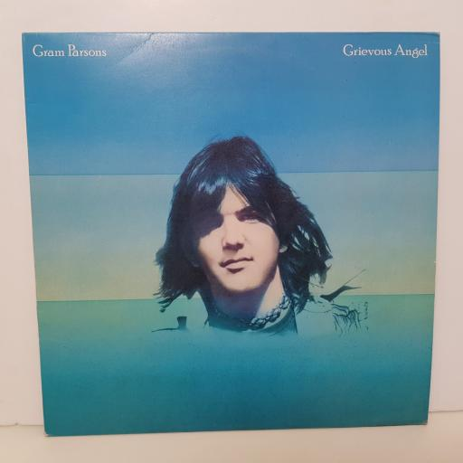 "GRAM PARSONS - grevious angel K 54018 000 12"" LP."