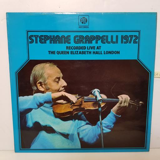 "STEPHANE GRAPPELLI - 1972 queen elizabeth hall NSPL 18374 12"" LP."
