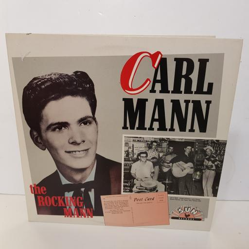 "CARL MANN - the rocking mann. CDX 17 000 12"" LP"