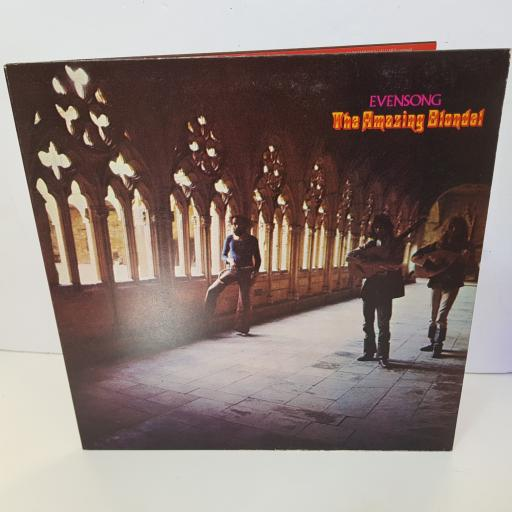 "THE AMAZING BLONDEL - evensong ILPS 9136 000 12"" LP."