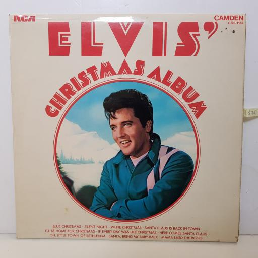 "ELVIS - christmas album. CDS 1155 000 12"" LP."