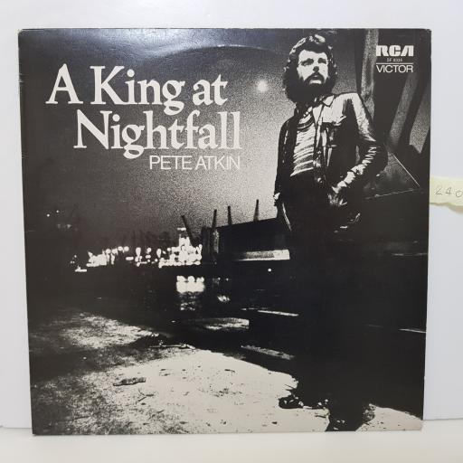 "PETE ATKIN - a king at nightfall SF 8336 000 12"" LP."