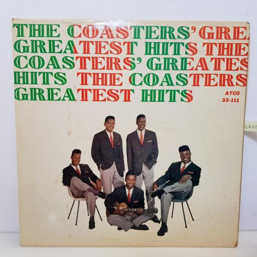 "THE COASTERS - greatest hits ATCO 3311 000 12"" LP."
