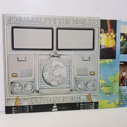 "BOB MARLEY & THE WAILERS - babylon by bus ISLD11 0000 12"" LP."