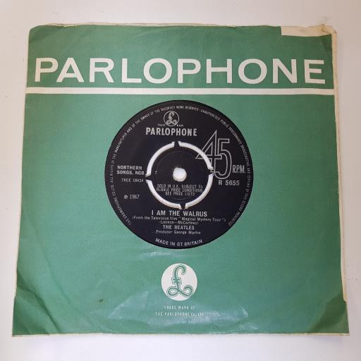 "THE BEATLES hello, goodbye, 7"" single, R 5655"