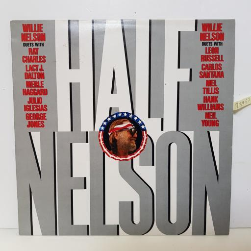 "WILLIE NELSON - hale nelson CBS 26596 12"" LP."