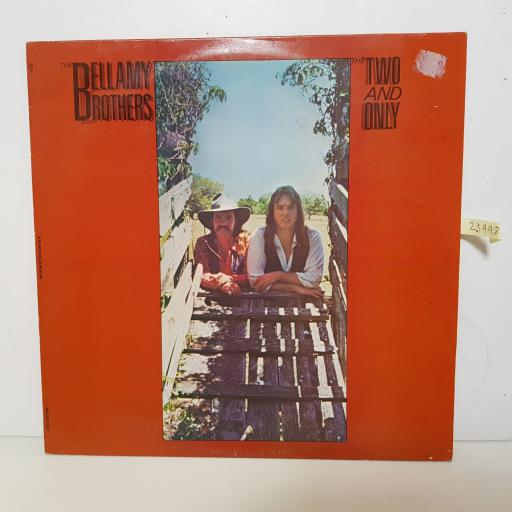 "THE BELLAMY BROTHERS - the two and only BSK 3347 000 12"" LP."