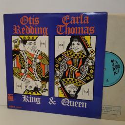 "OTIS REDDING & CARLA THOMAS King & Queen. STAX 589007. 12"" vinyl LP"