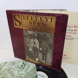 "STEELEYE SPAN ten man mop or Mr Reservoir Butler rides again. PEG9 12"" vinyl LP"