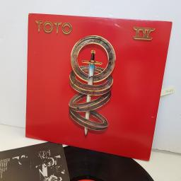 "TOTO IV, 4, FOUR. 7464377281. 12"" vinyl LP"