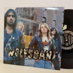 "WOLFSBANE LIVE FAST, DIE FAST, wicked tales of booze birds and bad language. 8384861 12"" vinyl LP"