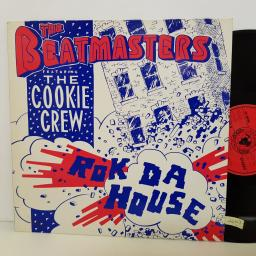 "THE BEATMASTERS featuring the cookie crew ROK DA HOUSE. LEFTR11T. 12"" vinyl SINGLE"