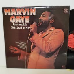 "MARVIN GAYE how sweet it is. 14 tracks. MFP50423. 12"" vinyl LP"