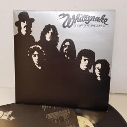 """WHITESNAKE ready an' willing UAG30302. 12"""" vinyl LP"""