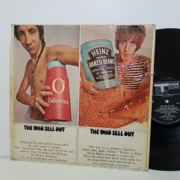 "The WHO sell out. 612002 mono. 12"" vinyl LP"