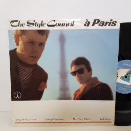 "THE STYLE COUNCIL a Paris. long hot summer, party chambers, the Paris match. TSCX3. 12"" vinyl SINGLE"