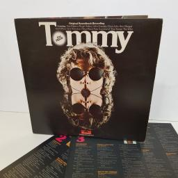 "THE WHO tommy the movie. Original soundtrack album recording featuring Eric Claptopn, Roger Daltrey, Elton John, Tina Turner. 2657014. 12"" vinyl LP"